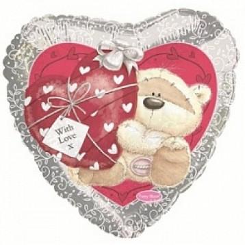 Шар Сердце, Мишка с сердечком