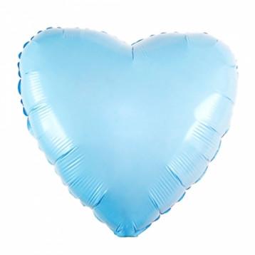 Шар Сердце, Тиффани (бирюза)