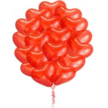 Сердца Красные, 25 шт.