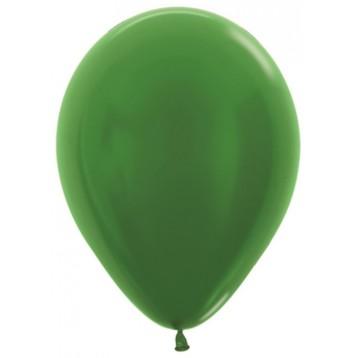 Шар Зеленый, металлик