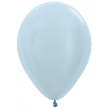 Шар Голубой, металлик