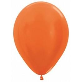 Шар Оранжевый, металлик