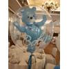 Шар Bubbles Мишка в шаре, Голубой