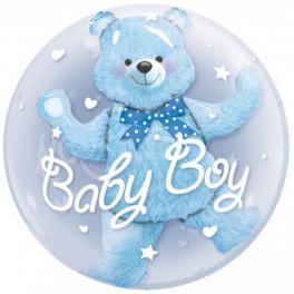 Шар Bubbles Baby boy, Мишка в шаре