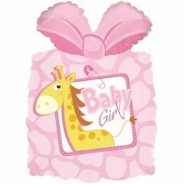 Шар Подарок новорожденной девочке