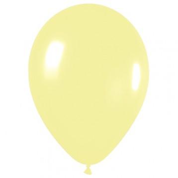 Шар Светло-желтый, пастель