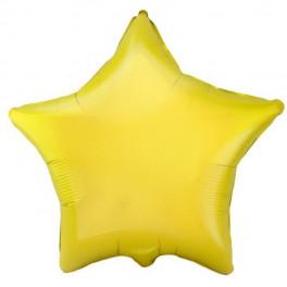 Шар Звезда, Желтый матовый