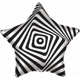 Шар Звезда, Иллюзия, Белый/черный