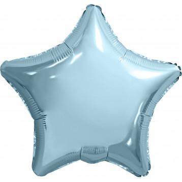 Шар Звезда, Нежно-голубой