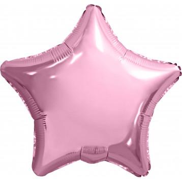 Шар Звезда, Нежно-розовое